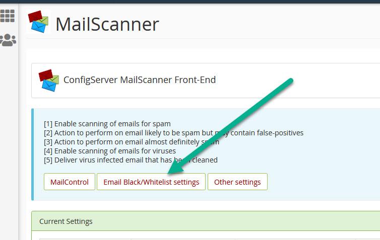 Whitelist-email