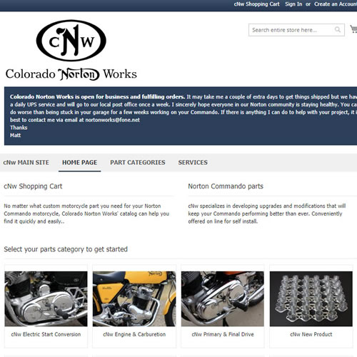 cNw e-Commerce Testimonial
